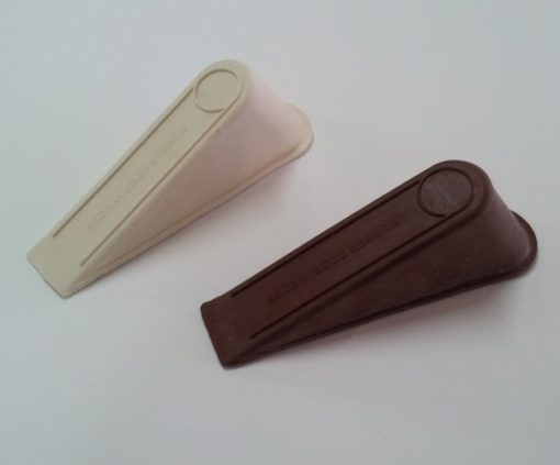 Super Jumbo Door Wedge - Brown & White
