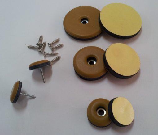 Teflon Glides - Nail On, Screw On, Adhesive