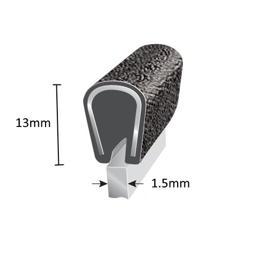 PVC Edging Schematic 1.5mm